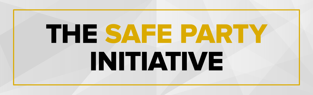 Safe Party Initiative Banner